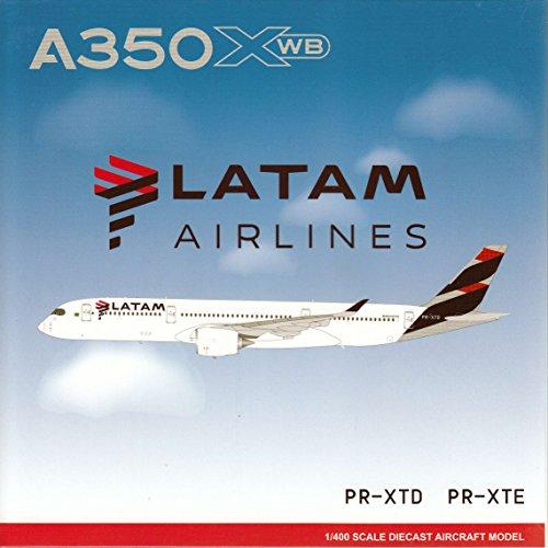 Jcw4030 1 400 Jc Wings Latam Airlines Airbus A350 900 Reg  Pr Xte  Pre Painted Pre Built