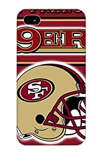 Guidepostee Top Quality Rugged San Francisco 49ers Case Cover Deisgn For Iphone 4/4s For Lovers