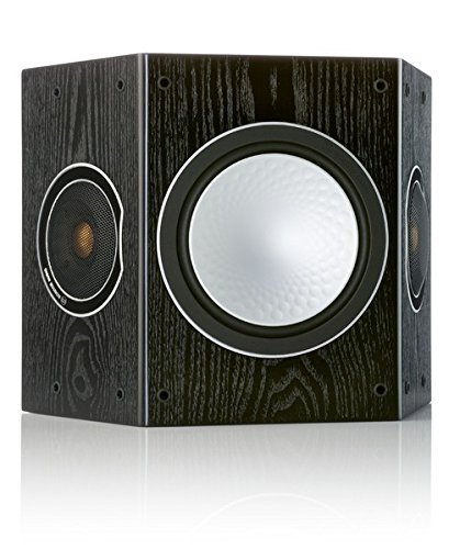 Monitor Audio Silver FX 3-Driver Surround Speakers, Black Oak, Pair by Monitor Audio
