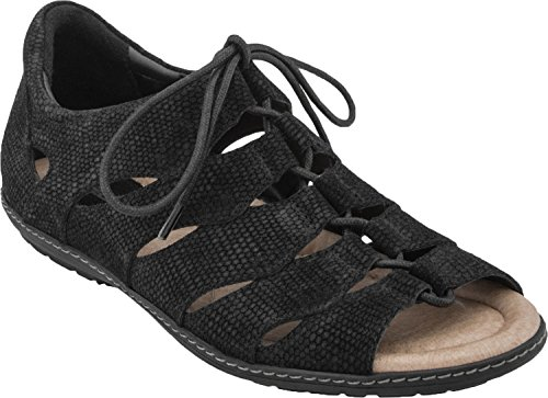 Sandal Black Women's Plover New Earth SFWwYq8tO
