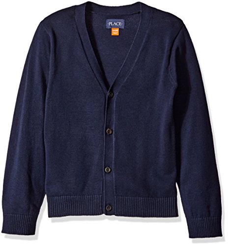 Free The Children's Place Boys' Uniform Cardigan Sweater