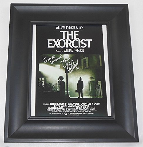 The Exorcist Linda Blair Sweet Dreams Hand Signed Autographed 8x10 Glossy Photo Gallery Framed Loa