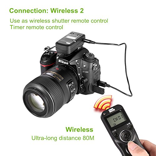 PIXEL TW-283 L1 Wireless Remote Control Wired Shutter Release Cable for Panasonic Cameras by PIXEL (Image #4)