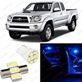 Splendid Autos Ultra BLUE LED Toyota Tacoma Interior Package Deal 2005 and Up (3 Pieces)