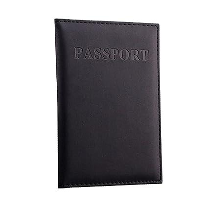 YJYDADA - Estuche para pasaporte de viaje, organizador de ...