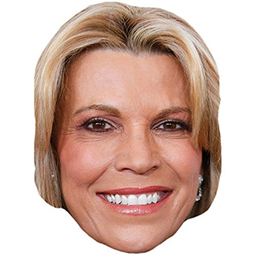 Vanna White Celebrity Mask  Card Face And Fancy Dress Mask