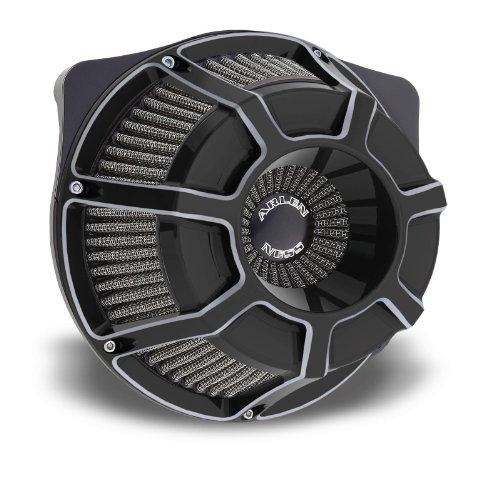 Arlen Ness 18-935 Black Inverted Series Air Cleaner Kit