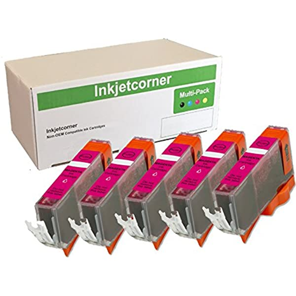 Ink /& Toner USA Compatible Ink Cartridge Replacement for Canon CLI-221M Works with: PIXMA IP3600 MP980 MP620 Magenta IP4600