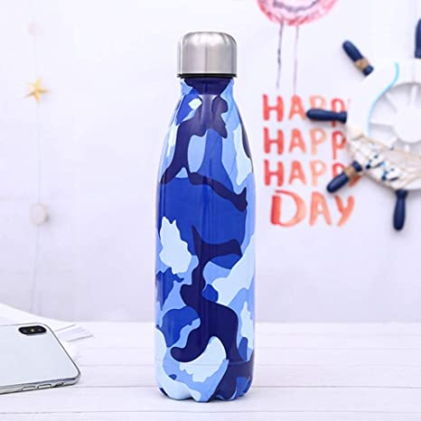 LAYBAY Botella de Agua de Doble Pared de Acero Inoxidable ...