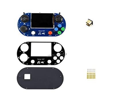 Amazon Com Coolwind Raspberry Pi Game Hat 3 5 Inch Ips Screen