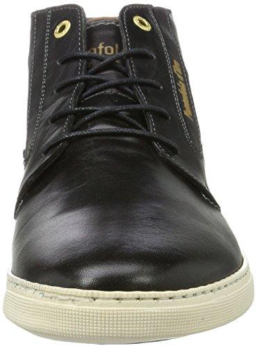 Pantofola 25y Vigo Collo d'Oro Nero Black Uomo a Alto Sneaker Mid HfPRHZ
