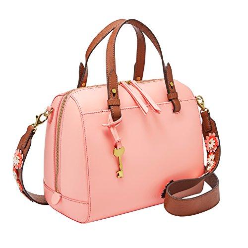 - Fossil Rachel Satchel Handbag, Cherry Blossom