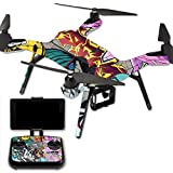 MightySkins Protective Vinyl Skin Decal for 3DR Solo Drone Quadcopter wrap cover sticker skins Graffiti Wild Styles