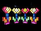 Show Mom:I LOVE YOU.TACTBIT LIGHT - Mega 28 pcs set. Original design by Tetris Light Designer. USB-LED Lamp Set, Create your Stained-glass icon in minutes: Heart. Cross, Tree, etc.