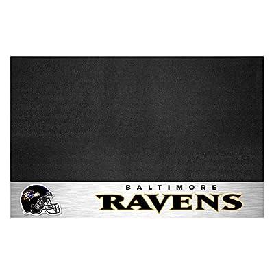 FANMATS NFL Baltimore Ravens Vinyl Grill Mat