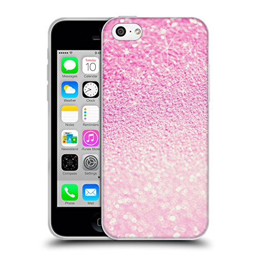 Officiel Monika Strigel Rose Frénésie Étui Coque en Gel molle pour Apple iPhone 5c