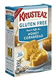 corn bread mixes - Krusteaz Gluten Free Honey Cornbread Mix, 15-Ounce Box