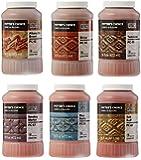 Amaco 39182X Potters Choice Glazes, 1 pint Capacity, Assorted Colors