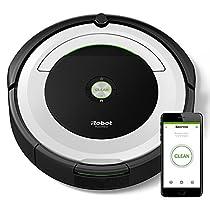 iRobot Roomba 691 - Robot Aspirador, Alto Rendimiento de Limpieza, Sensores de Suciedad Dirt Detect, Todo Tipo de Suelos, Atrapa Pelo de Mascotas, Wifi, Color Blanco