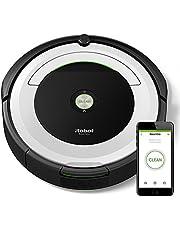 iRobot Roomba 691- Robot aspirador para suelos duros y alfombras, con tecnología Dirt Detect, sistema de limpieza en 3 fases, con conexión wifi, programable por app y compatible con Alexa