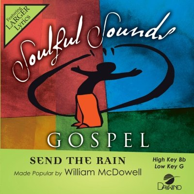 Send the Rain Accompaniment Cd Performance Track
