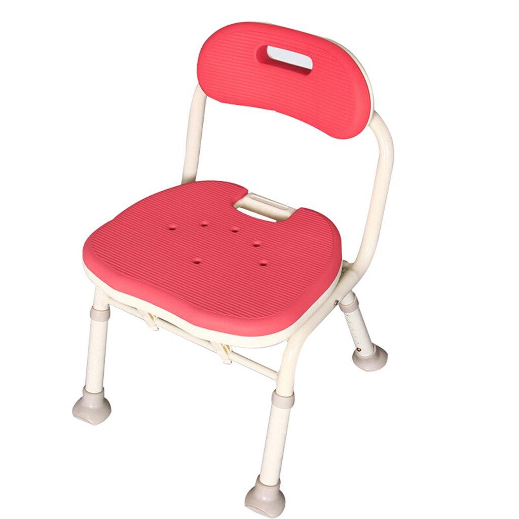 【ふるさと割】 LXN シャワーチェア折り畳み式 : - 高齢者、妊婦、障害者に適用 (色 (色 LXN : 赤) 赤 B07D7MSDHZ, 鎮西町:0f143f04 --- sbrc.masdar.ac.ae