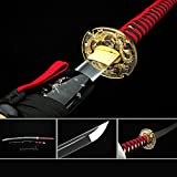 Best Katana Swords - Handmade Japanese Sword Katana, Samurai Sword Real Platinum Review