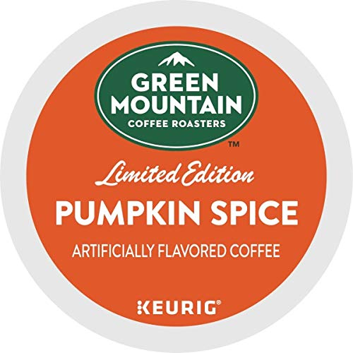 Green Mountain Coffee Pumpkin Spice, Keurig K-Cups, 72 Count by Green Mountain Coffee Roasters