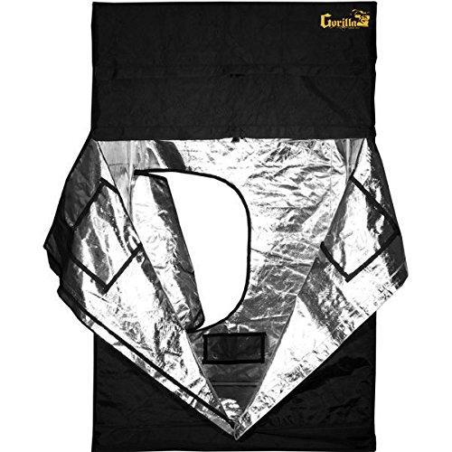 51wuD5h-SUL 60 x 60 x 83 in. Gorilla Grow Tent - Flood Proof Flooring - GGT55
