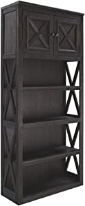 Signature Design by Ashley Tyler Creek Large Bookcase Grayish Brown/Black