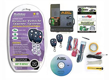 amazon com bulldog security rs1270b remote starter keyless amazon com bulldog security rs1270b remote starter keyless entry and built in bypass module automotive