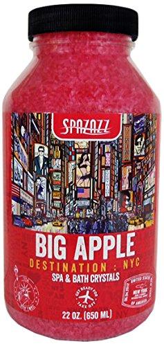 Nyc Big Apple - Spazazz SPZ-302 NYC Big Apple Destination Crystals Container, 22 oz.