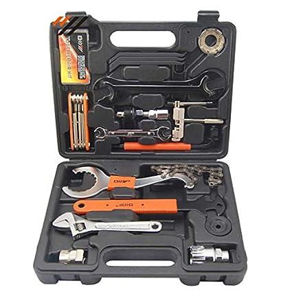MXBIN Kit de Herramientas de reparación de Bicicletas 28 en 1 ...
