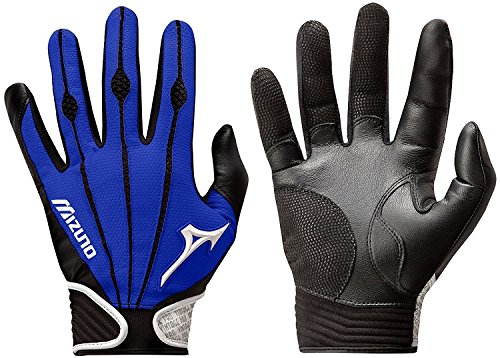Mizuno Adult Vintage Pro Batting Gloves, Royal, Small