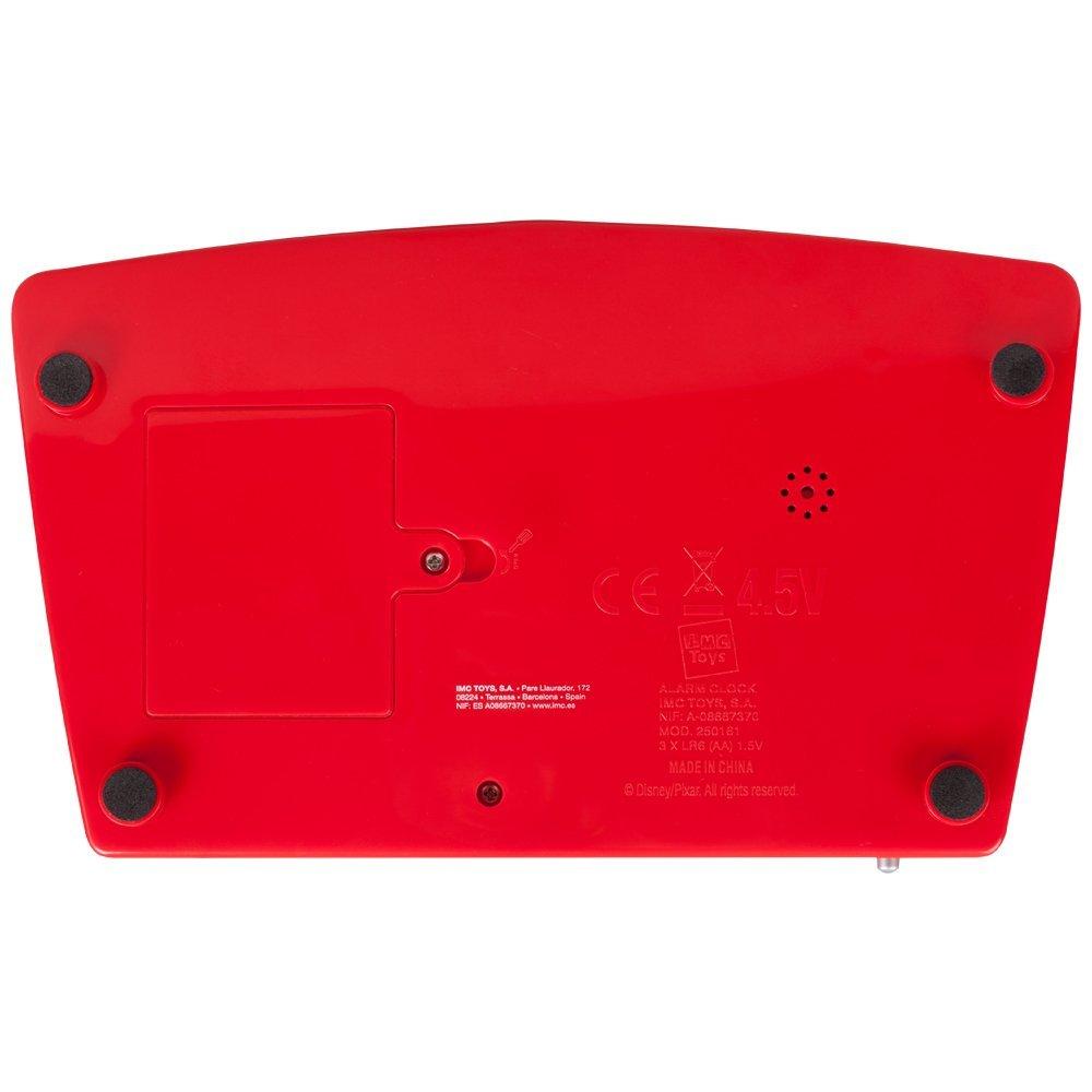 Disney Disney Cars 250161 Clock Radio-réveil avec le temps voyant rouge: Amazon.fr: High-tech