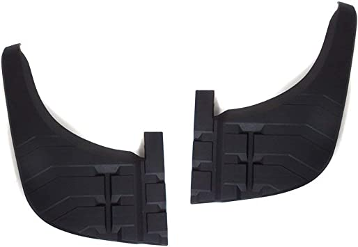 Black For Tundra 07-13 Rear Passenger Side Bumper Step Pad