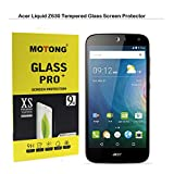 Acer LIQUID Z630 Screen Protector - MOTONG Tempered Glass Screen Protector For Acer LIQUID Z630 5.5IN,9 H Hardness, 0.3mm Thickness,Made From Real Glass (LIQUID Z630 5.5IN)