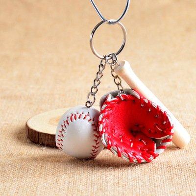 RENKJ Creativo mini bate de béisbol de madera en forma de ...