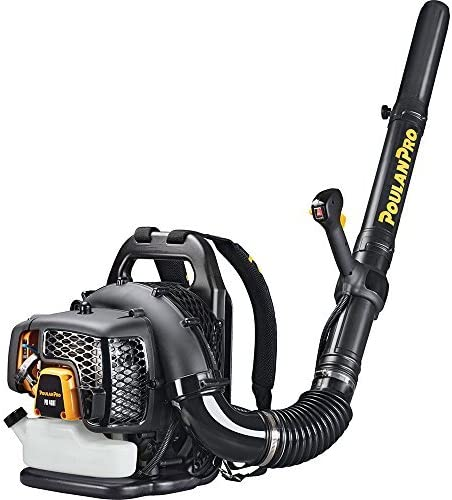 Poulan Pro PR48BT, 48cc 2-Cycle Gas 475 CFM 200 MPH Backpack Leaf Blower