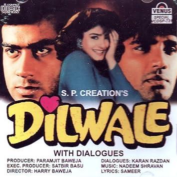 Various Artist Dilwale Hindi Music Bollywood Songs Film