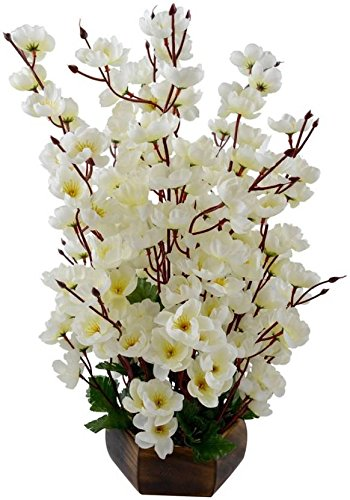 Buy kaykon artificial flowers bunch white orchid flower for home kaykon artificial flowers bunch white orchid flower for home decor 17 inch mightylinksfo