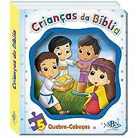 Janelinha lenticular bíblica c quebra-cabeças: Crianças da bíblia