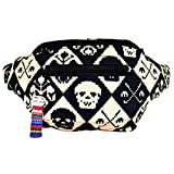 Funky Smuggler's Fanny Pack, Hidden Pocket, Party, Boho Chic & Handmade (Juan Calavera)