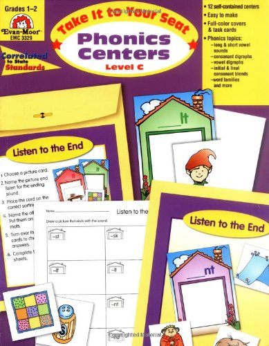 Phonics Centers, Grades 1-2 (Seat Phonics Centers)
