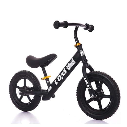 YSH 12 Pulgadas, Bicicleta De Equilibrio para Niños Pequeños Sin ...