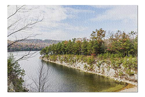 Pennsylvania - Long Pine Reservoir - Photography A-94512 (20x30 Premium 1000 Piece Jigsaw Puzzle, Made in USA!)