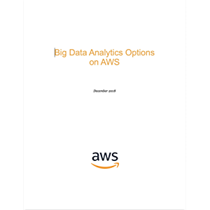 Big Data Analytics Options on AWS