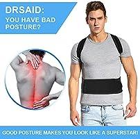 Doact Corrector de Postura Brace Clavícula Apoyo de Espalda ...