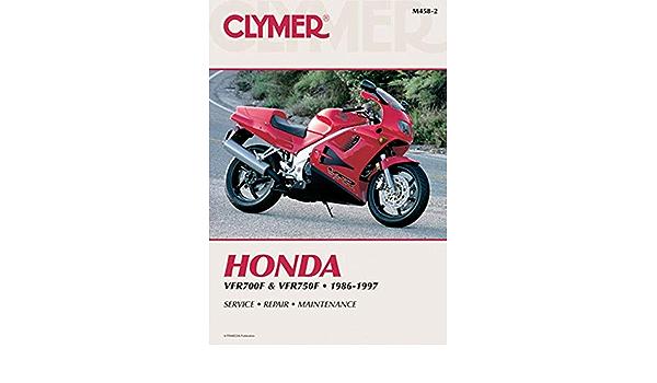 Clymer Repair Manual Fits Honda VFR750F Interceptor,VFR700F Interceptor M458-2