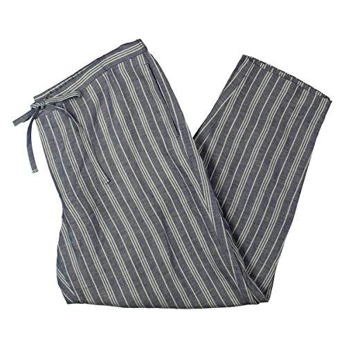 Anne Klein Women's Drawstring Pants Eton Blue/White 16 27